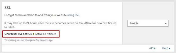 Cloudflare-SSL-Flexible-ativo