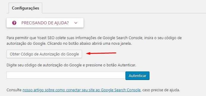 Configuração Plugin Yoast SEO e Google Search Console